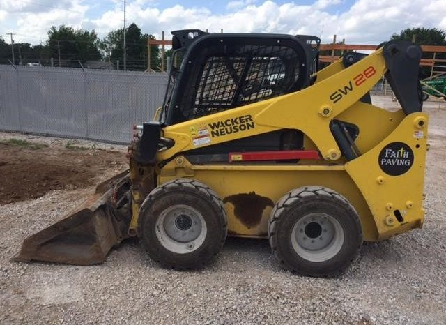 2015 WACKER NEUSON SW28 Skid-Steer Loader full