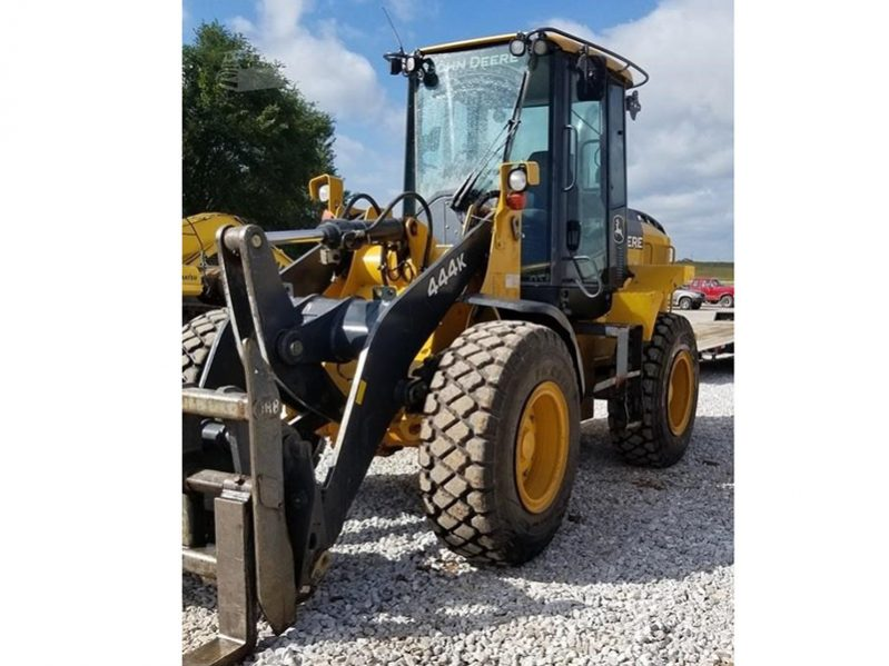 Used 2013 John Deere 444K Wheel Loader
