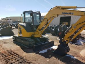Used 2015 Komatsu PC55MR-3 Mini Excavator