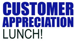 Customer Appreciation Lunch