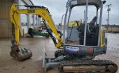 Used  WACKER NEUSON EZ38