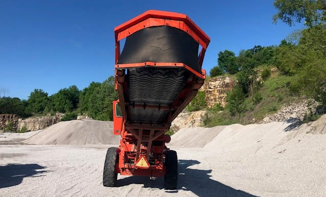 Athey 712DS Conveyor full